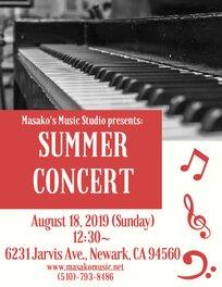 Masako's Music Studio | Private & Group Music Classes in